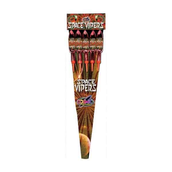 SPACE VIPER ROCKET PACK ( 5 PIECES)