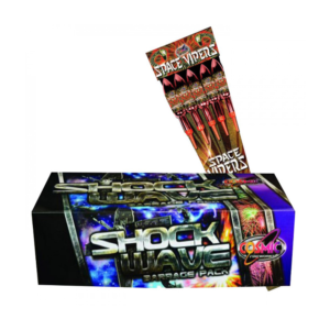 SHOCKWAVE BARRAGE PACK (9 PIECES) BUY 1 GET SPACE VIPER ROCKET PACK FREE