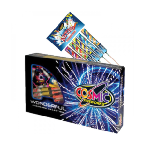 WONDERFUL SELECTION BOX 33 PIECES BUY 1 GET ASTRO ROCKET PACK FREE (5 PIECES)