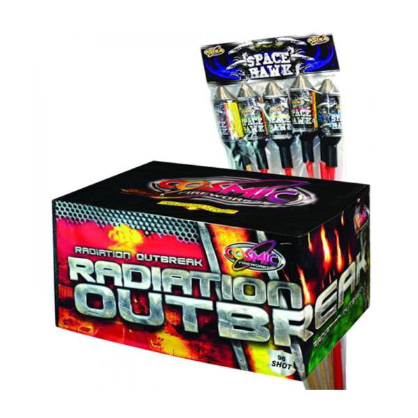 RADIATION OUTBREAK (87 SHOTS) (BUY 1 GET SPACE HAWK ROCKET PACK FREE)
