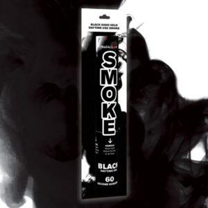 Black Handheld Coloured Smoke