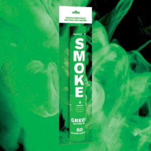 Green Handheld Coloured Smoke