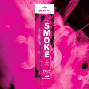 Pink Handheld Coloured Smoke
