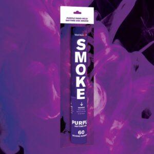 Purple Handheld Coloured Smoke